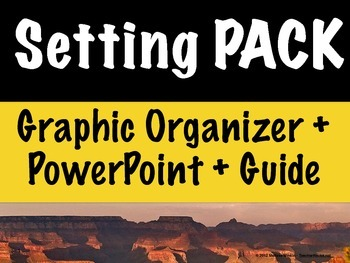 Setting Graphic Organizer AND PowerPoint – What is Setting