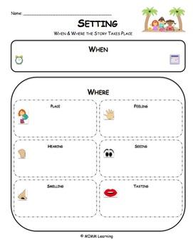 Setting Graphic Organizer - Universal