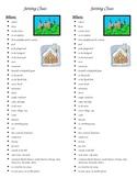 Setting Graphic Organizer, Bookmark Resource, Poster, Wher