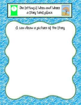 Setting Literacy Center Activity-Color