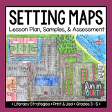 Setting Maps - Story Writing Lesson with Assessment