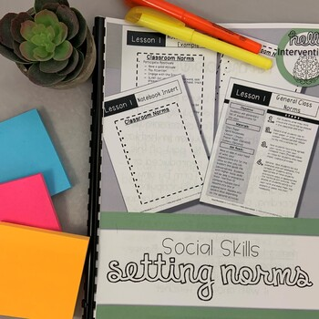 Setting Norms: Classroom Expectations (Back to School)