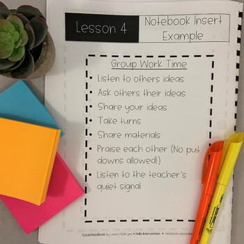 Setting Norms: Group Work (Back to School)