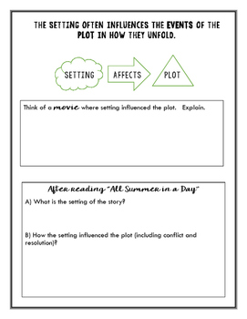 Setting Notes & Activity