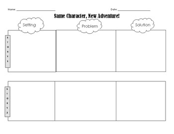 Setting, Problem, Solution Graphic Organizer