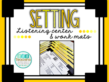 Setting - QR Listening Center and Work Mats