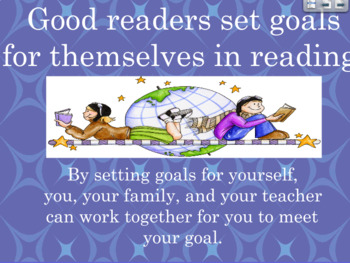 Setting Reading Goals Flipchart