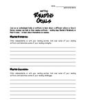 Setting Reading Goals Guided Activity/Worksheet