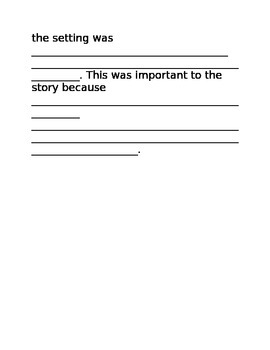 Setting Responder