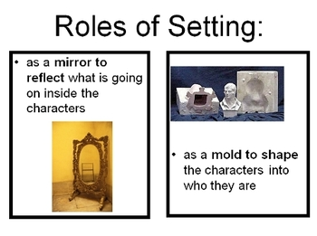 setting in literature
