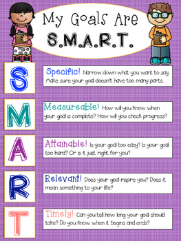 Setting S.M.A.R.T. Goals FREEBIE