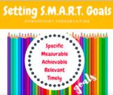 Setting S.M.A.R.T. Goals Powerpoint Presentation
