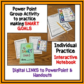 Setting SMART GOALS - Lesson, Activity, and Power Point