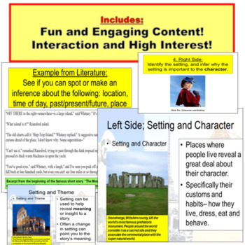 Setting Introduction Lesson Powerpoint!