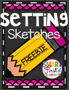 Setting Sketches Freebie