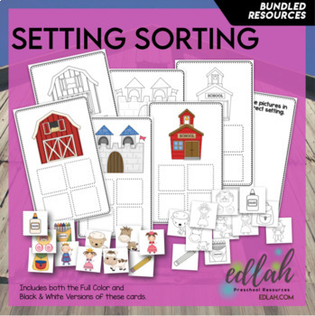Setting Sorting Cards