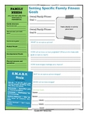 Setting Specific Family Fitness Goals planning printable