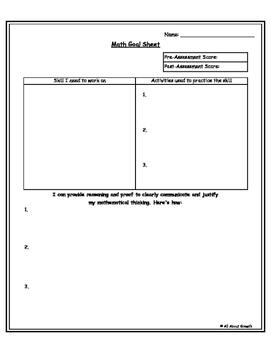 Setting Student Math Goals