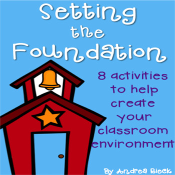Setting The Foundation for a Great Year! {8 Back to School activities}