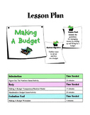 Setting Up A Financial Budget Lesson