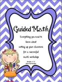Setting Up Guided Math K-5