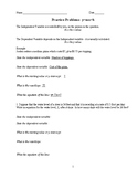 Setting-Up Word Problems