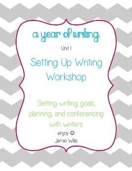Setting Up Writing Workshop