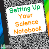 Setting Up Your Science Notebook