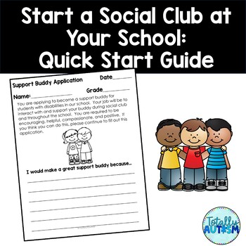 Setting Up a Buddy Program for Students with Special Needs