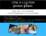 Setting Up a Classroom Peace Place