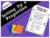 Setting Up a Proportion Interactive Notebook Page