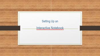 Setting Up an Interactive Notebook