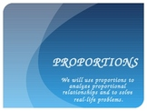 Setting Up and Solving Proportions PowerPoint PLUS Guided Student Notes