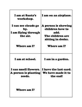 Setting-Where Am I? Game