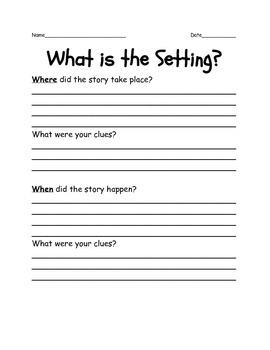 Setting: Where and When?