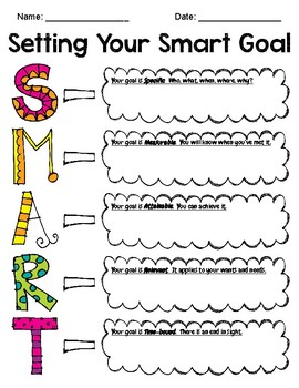 Setting Your SMART Goal