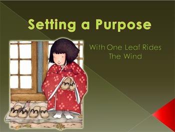 Setting a Purpose  Bundle (Lesson Plan & Presentation)