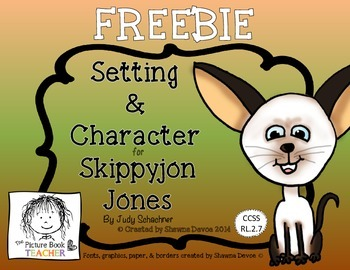 Setting and Character FREEBIE inspired by Skippyjon Jones