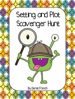 Freebie - Setting and Plot Scavenger Hunt