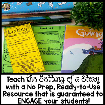 Setting of a Story Brochure Tri-fold