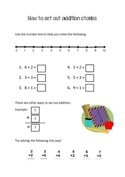 Setting out addition