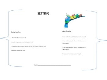 Setting response card