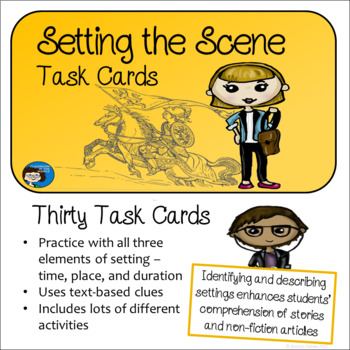 Setting - Story Elements Task Cards