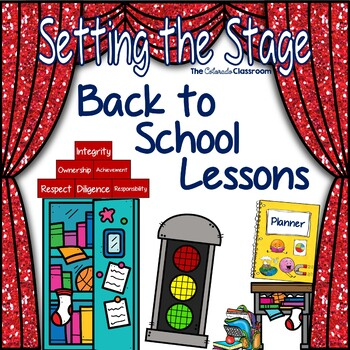 Setting the Stage: Back to School Bundle - Organization, Rules, Behavior, Etc.