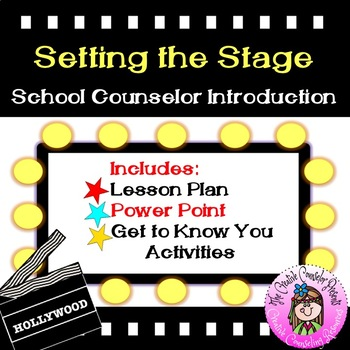 Setting the Stage Counselor Introduction Beginning Guidanc