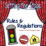 STS Rules and Regulations Lesson Plan for Back to School |