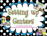 Setting up Centers - Center Icons and Charts