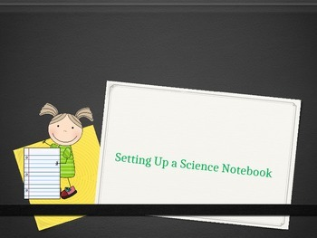 Setting up a Science Notebook PPT