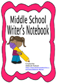 Writer's Notebook for Middle School