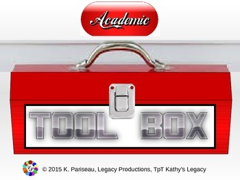 Setting up an Academic Toolbox document board for teens & interactive notebooks